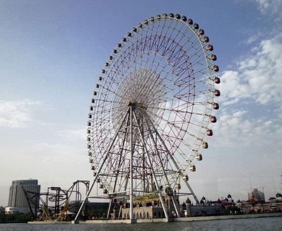 120m Ferris Wheel for Sale in Philippines